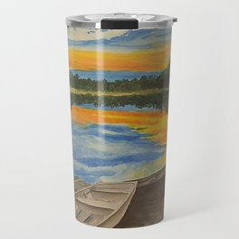 Sunset on the Lake Travel Mug