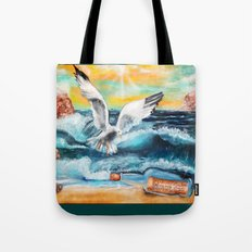 Message in a bottle Tote Bag