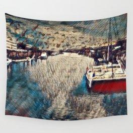 Fisherman's Wharf Wall Tapestry