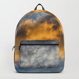 clouds in the morning, sunrise Backpack