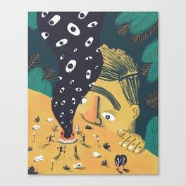 Tiny spirits Canvas Print