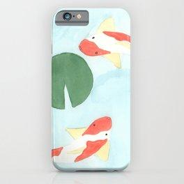The Koi Pond iPhone Case