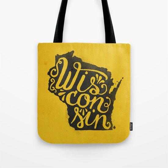 Wisconsin Tote Bag