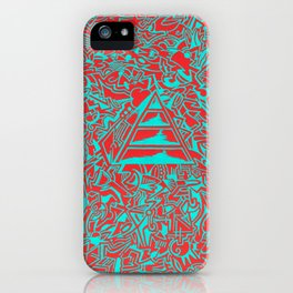 Incoherent Echo iPhone Case