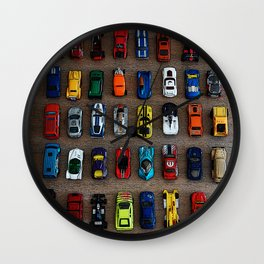 1980's Toy Cars Wall Clock