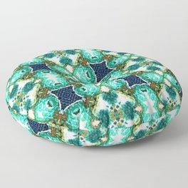 Blue Pattern 2 Floor Pillow