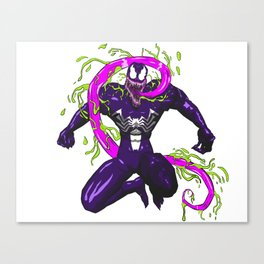 Symbiote Slobber Canvas Print