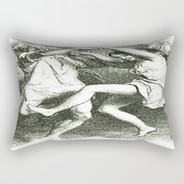 Tam O'Shanter Vector With White Background Rectangular Pillow
