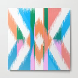 Summer Colors Abstract Painting Metal Print