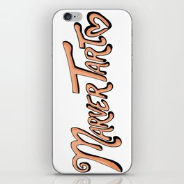 MarverTart iPhone Skin