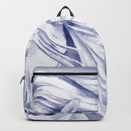 Andalusian mane Blue Backpack