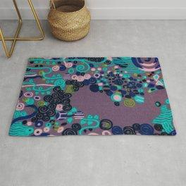 "Gustav Klimt ""Textile design - Model 2"" edited (1) Rug"