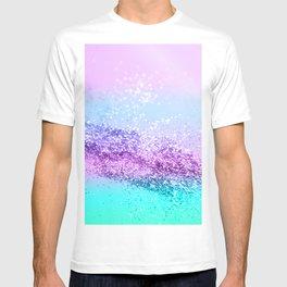 Unicorn Girls Glitter #14 #shiny #decor #art #society6 T-shirt