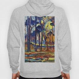 Forest Near Oele - Piet Mondrian Hoody