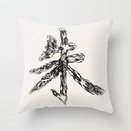 Zhu Throw Pillow