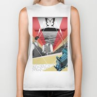 science Biker Tanks featuring Science by Chris Newton