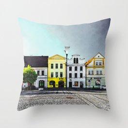 Stribro Czechia art #stribro Throw Pillow