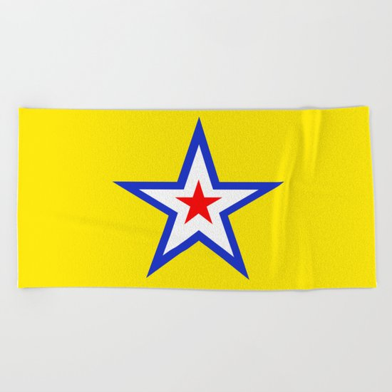 The Star Beach Towel