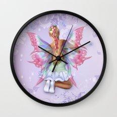 Make a Wish Fairy Wall Clock