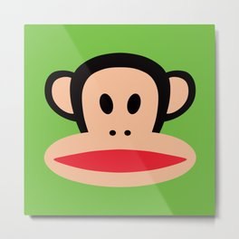 Monkey by Paul Frank Metal Print