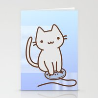 video game Stationery Cards featuring Video game by Viviane Kohl