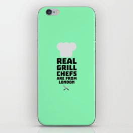 Real Grill Chefs are from London T-Shirt Dl16l iPhone Skin