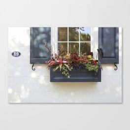 Charleston Flowerbox 89 Canvas Print