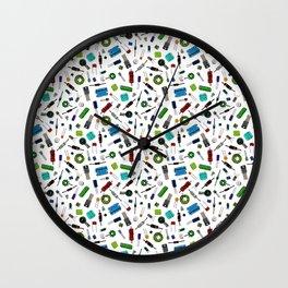 Circuit Components - Color Wall Clock