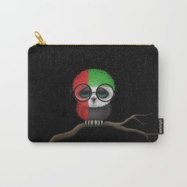 Baby Owl with Glasses and UAE Flag Carry-All Pouch