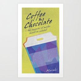 Coffee & Chocolate Art Print