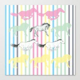 Carousel Horses 02 Canvas Print