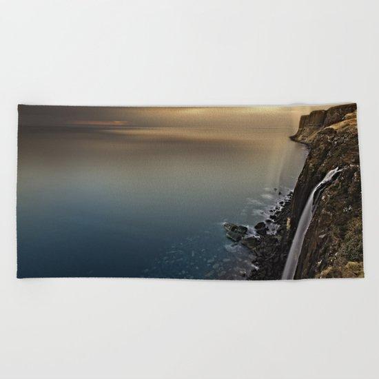 Don't Be Afraid Beach Towel