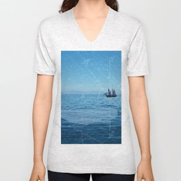 Old Man and the Sea Unisex V-Neck