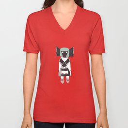 Kachina Doll Unisex V-Neck