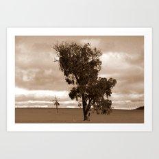 Our barren Land Art Print