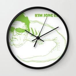 Kim Jong Eel Wall Clock
