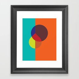 Cacho Shapes LXXXVI Framed Art Print