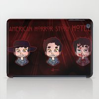ahs iPad Cases featuring AHS Hotel: Justin by Sunshunes