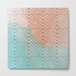 Spring Abacus Beads Metal Print