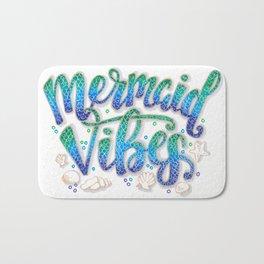 Mermaid Vibes Bath Mat
