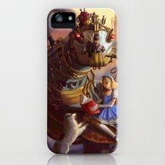 Sandra's Steampunk Alice in Wonderland iPhone (5, 5s) Slim Case