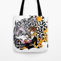 lantern Tote Bags featuring Lantern by T.I.B ARTWORK