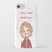 enjolras iPhone & iPod Cases featuring Enjolras Reminder by Antisepticbandaid