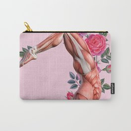 Rose Body Collage Carry-All Pouch