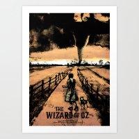 oz Art Prints featuring Oz  by Dan K Norris