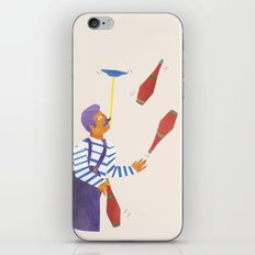A circus performer named Brian. iPhone & iPod Skin
