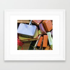Extra Baggage Framed Art Print