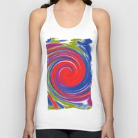 circle Tank Tops featuring circle by Karl-Heinz Lüpke