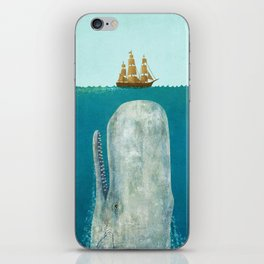 The Whale iPhone Skin