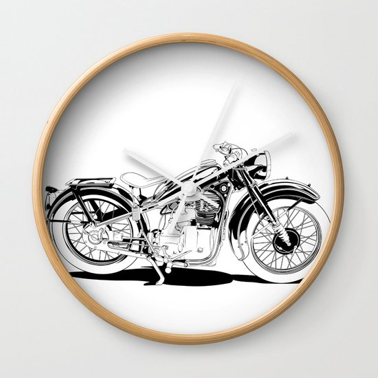 1937 Out Wall Clock